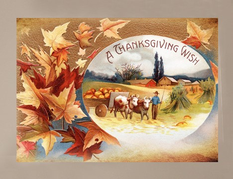 A Thanksgiving Wish Thanksgiving cards  wholesale |  Yesterday's Best