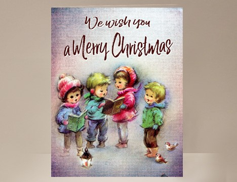 wholesale cards We wish you a Merry Christmas  |  Yesterday's Best