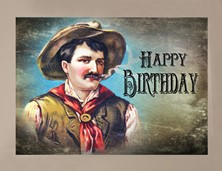View Cowboy Birthday Card