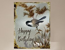 View Chickadee Birthday Card