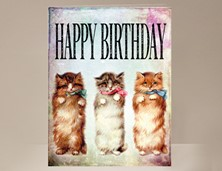View Cat Birthday Card