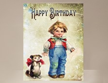 View Boy Birthday Card