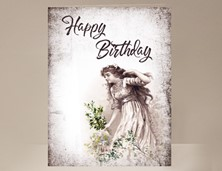 View Girl Birthday Card