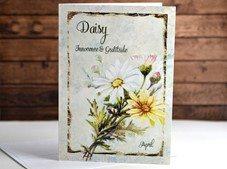 View Flower of the month Card Daisy April