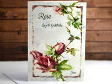 View Flower of the month Card Rose June