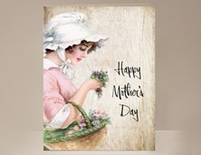 View Mother's Day Card Basket of Flowers