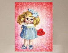 View Valentine Card for Girl