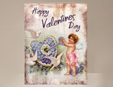 View Angel Valentine Card