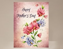 View Mother's Day Card Sweet Pea